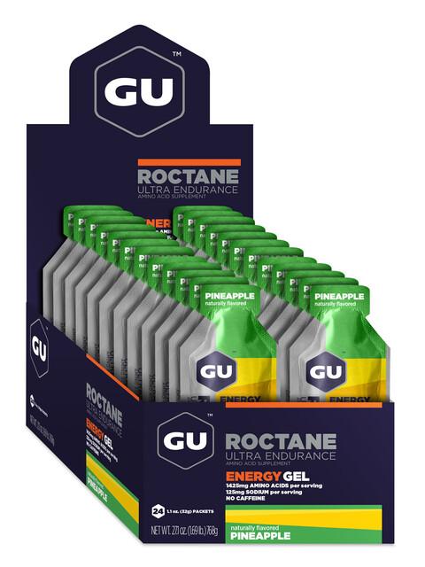 GU Energy Roctane Energy Gel Box 24x32g, Pineapple
